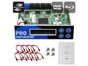 Produplicator 1-2-3-4-5-6-7-8-9 Lightscribe Blu-ray BD/ DVD/ CD SATA Duplicator Copier CONTROLLER + Cables, Screws & Manual 9SIA3V63885508