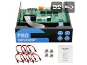 Produplicator 1-2-3-4-5 Blu-ray CD/ DVD/ BD SATA Duplicator Copier CONTROLLER + Cables, Screws & Manual 9SIA3V637Y7884