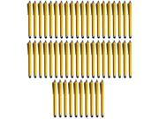 50x Colorful Touch Screen Stylus Pen For iPhone 4S 4G 3GS 3G Galaxy S3 S4 Note II 2