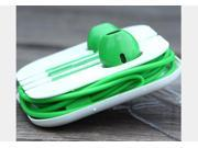 Earphone earbud Headset  remote Mic 3.5mm jack for  iPhone 6 5 5S 5C 4 4S 3G