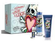 Ed Hardy Love & Luck For Men Special Value Gift Set - edt-sg-edt Mini