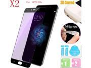 2pcs 3D Full Cover CarbonFiber Tempered Glass Screen Protector For OPPO R9s 9SIA3VW5EZ7826