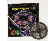 SUPERNIGHT 5M 16.4ft 500cm SMD 5050 RGB 300 LEDs Light Flexible Strip Flash Color Changing Non-Waterproof Lamp