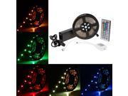 SuperNight® 10M Continuous RGB LED Strip Light 5050 SMD 30leds/m 300LEDs/Reel Full Kit 32.8FT Colorful non-waterproof Flexible LED Strip + 44key IR Remote controller + DC24V 3A Power Adapter
