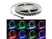 SuperNight® 10M 5050 SMD RGBW RGB+Cool White 600 LED Strip Light Input DC 24V Non-waterproof Lights (Black PCB)