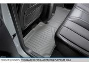 MAXFLOORMAT All Weather Custom Fit Floor Mats Liner Second Row for RX?(Gray)