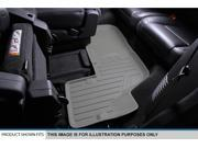 MAXFLOORMAT All Weather Custom Floor Mats Liner (3 Row) Set for Chevy SUV (Gray)