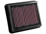 K&N Drop-In High-Flow Air Filter 33-5033 Fits:INFINITI / /2012 - 2013 M35H V6 3 9SIA33D4631448