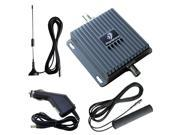 Mini 3G 850/1700MHz Dual Band Cell Phone Signal Booster Repeater Kit For Car Track Boat