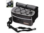 New Bicycle Bike Handlebar Messenger Bag Front Basket With Rain Cover