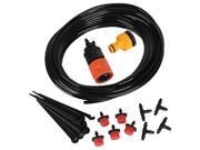 10m Hose Drippers Water Saving Micro Irrigation System Plant Watering Garden Set