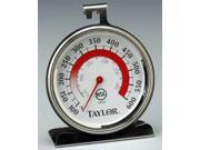 Taylor Analog Oven Thermometer Stainless Steel 5932