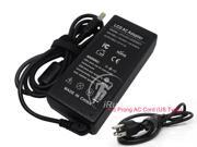 LCD Monitor Charger, 12V 5A 60W Adapter for HP LCD: PAVILION 1503 D5061-A, F1503, 1703, F1703, L1800; SONY LCD Monitors JTX V9, SDM-HS53, JTX V7 Power Supply LS