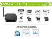 MINIX NEO Z64 Android 4.4.4 Quad Core Intel Z3735F WiFi Bluetooth 4.0 TV Box 2GB DDR3 32GB ROM for Home Entertainment