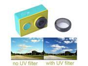 Camera Lens Protector UV Filter for Original Xiaomi Yi Action Sport Camera