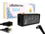 UBatteries AC Adapter Charger Sony VAIO VGN-SR490CD - 100W, 19.5V sale off 2016