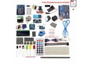 UNO R3 Starter Kits 1602 LCD Screen Ultrasonic Range Finder Compatible with Arduino