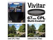 Vivitar Series 1 67mm Multi-Coated Circular Polarizer Glass Filter