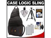 Case Logic Digital SLR Sling Camera Bag/Case   +  LP-E5 Batt