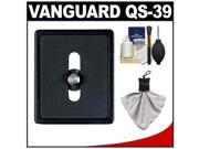 Vanguard Quick Shoe Release Plate QS-39 with Accessory Kit for Tracker Series, Alta+ Series Tripods, SBH & PH Series Ball Heads