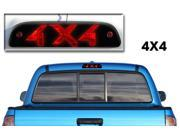 Toyota Tacoma 3rd Brake Light Matte Black Vinyl 4x4