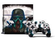 Sony PS4 PlayStation 4 Console Skin plus 2 Controller Skins -  Zombie Trooper