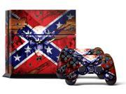 Sony PS4 PlayStation 4 Console Skin plus 2 Controller Skins - Bandit