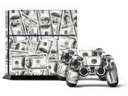 Sony PS4 PlayStation 4 Console Skin plus 2 Controller Skins - Big Ballin