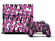 Sony PS4 PlayStation 4 Console Skin plus 2 Controller Skins - Coma