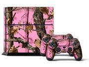 Sony PS4 PlayStation 4 Console Skin plus 2 Controller Skins -  Pink Camo