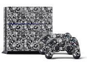 Sony PS4 PlayStation 4 Console Skin plus 2 Controller Skins -  Skull Camo