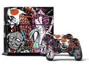 Sony PS4 PlayStation 4 Console Skin plus 2 Controller Skins -  Tsunami