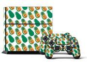 Sony PS4 PlayStation 4 Console Skin plus 2 Controller Skins -  Pineapple