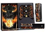 Microsoft Xbox ONE  Console Skin plus 2 Controller Skins - Firestorm 9SIA4341N28820