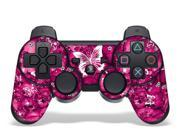 Sony PS3 PlayStation 3 Controller Skin Pink Butterfly
