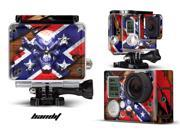 GoPro Hero 3+ Camera & Case Vinyl Skin Decal - Bandit