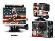 GoPro Hero 3+ Camera & Case Vinyl Skin Decal - Battle Torn