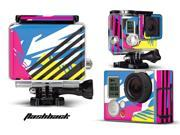 GoPro Hero 3+ Camera & Case Vinyl Skin Decal - Flashback