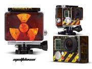 GoPro Hero 3+ Camera & Case Vinyl Skin Decal - Meltdown