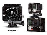 GoPro Hero 3+ Camera & Case Vinyl Skin Decal - Reaper Black