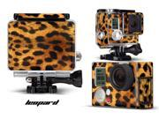 GoPro Hero 3+ Camera & Case Vinyl Skin Decal - Leopard