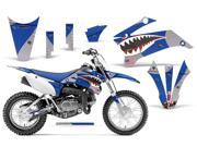 2011 2013 Yamaha TTR 110 AMRRACING MX Graphics Decal Kit Warhawk Blue
