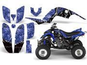 2001 2005 Yamaha Raptor 660 AMRRACING ATV Graphics Decal Kit Reaper Blue
