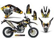 2007 2013 Yamaha WR 250R^^07 13 WR 250X AMRRACING MX Graphics Decal Kit Motorhead Black