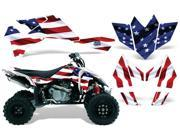 2006 2009 Suzuki LTR 450 AMRRACING ATV Graphics Decal Kit Stars and Stripes