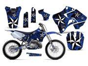 1996 2001 Yamaha YZ 125^^96 01 YZ 250 AMRRACING MX Graphics Decal Kit Northstar Blue