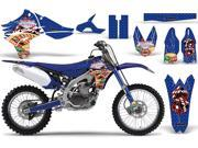 2010 2013 Yamaha YZF 450 AMRRACING MX Graphics Decal Kit Vegas Baller Blue