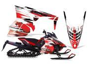 2013 2014 Yamah Viper AMRRACING Sled Graphics Decal Kit Carbon X Red