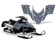 2008 2010 Polaris Dragon Shift RMK AMRRACING Sled Graphics Decal Kit Urban Camo Black