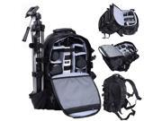 Deluxe Camera Backpack Bag Multifunctional Case Sony Canon Nikon DSLR SLR